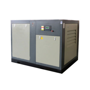 Industrial Electric Lubricated 75kw Screw Air Compressor