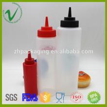 Botella de cuentagotas plástica de LDPE