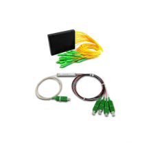 Acoplador de módulo ABS Gpon / Epon Divisores de PLC de fibra óptica