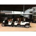 48V 6 personnes chariot de golf électrique bon marché avec la petite certification de la CE de boîte de cargaison