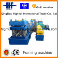 Two-Wave W Beam Highway Guardrails Roll Forming Machine