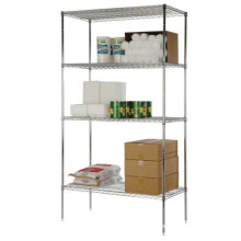 Metal Chrome Restaurant Kitchen Wire Storage Shelving with NSF Aprpoval