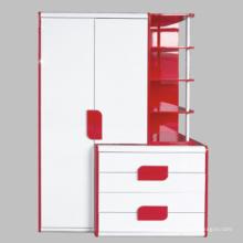 Mobília de madeira do armário conjunto/alto brilho (10319-3)