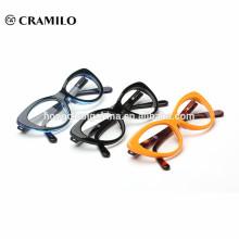 Marco óptico de acetato de ojo de gato, marco de gafas