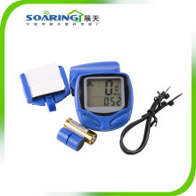 Wireless Bicycle Computer Speedometer with LCD Display
