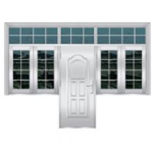 Janela / porta de aço inoxidável / porta de entrada / sala Windwo (6730)