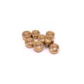 Custom Brass Round Clean Hole Spacer