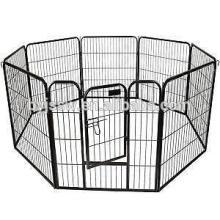 Clôtures de chien de barrière de treillis métallique de fer à vendre