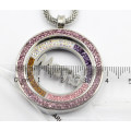 High Quality 316L Surgical Stainless Steel Locket Pendant with Mama Coin Inside