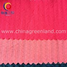 Sólido 65% poliéster 35% algodão tecido para vestuário Jersey (GLLML169)