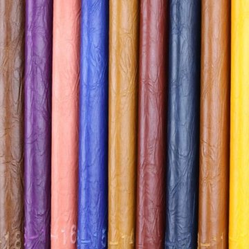 Qualidade Assegurada Anti-Mildew PVC Sofá Couro Sintético (908 #)