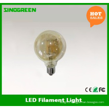 Hot Sell Clear Golden Color G125 Vintage LED Bulb