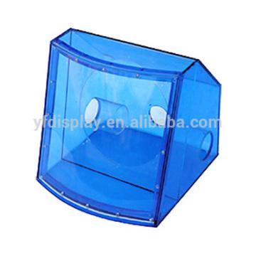 Полупрозрачный синий цвет акрилового профессиональный громкоговоритель ящик