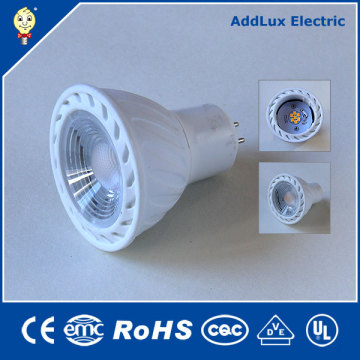 110V 220V Dimmable 5W Gu5.3 COB LED Proyector Lighitng