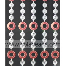 """Reasonable 56mm Crystal Plastic Bead Chain Garland """