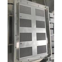 Cepilladora semiautomática de elemento filtrante de 8 cavidades