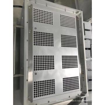 Brosseuse à éléments filtrants semi-automatique à 8 cavités