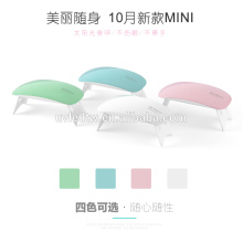 Hot sale nail led lamp SUNmini 6W UV LED lamp