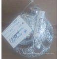 Christmas Glass Ball Bauble Clear with Jewels