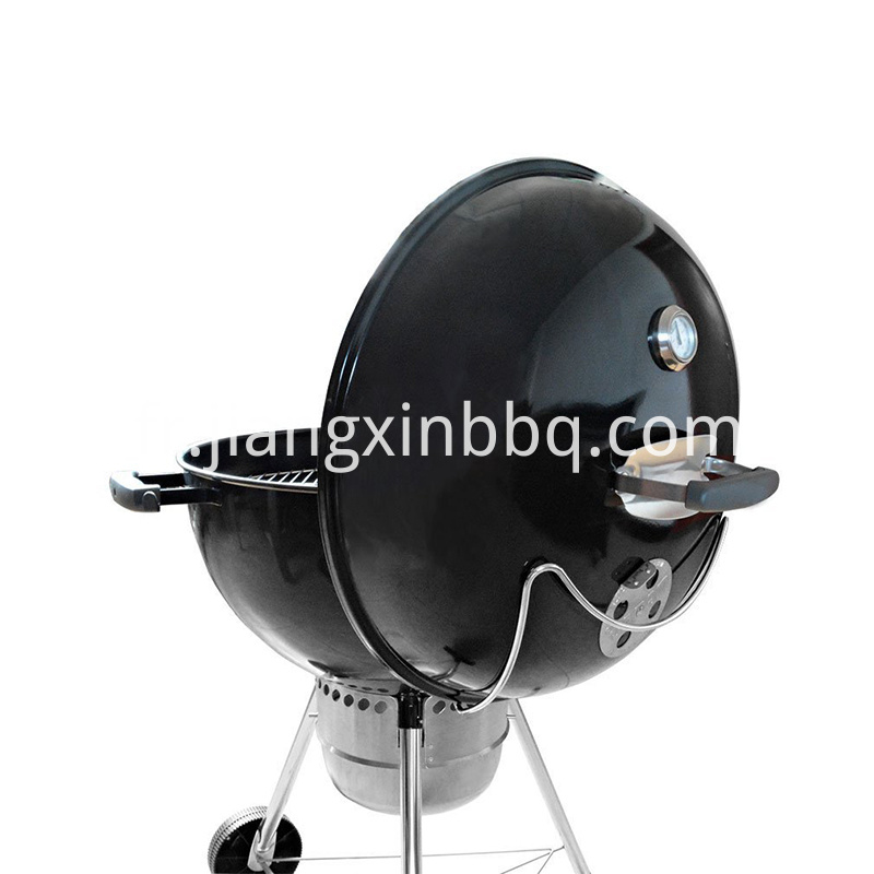 Slide A Side Lid Holder For Kettle Bbq Lid Holder