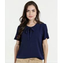 Tops calientes de la gasa del jersey del Bowknot del color sólido de la venta