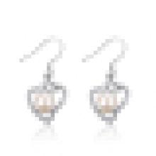 Personalidad de la moda de las mujeres Freshwater Shell Pearl Earrings