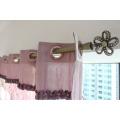 2016 New Design Wall Mounted Iron Window Curtain Rod