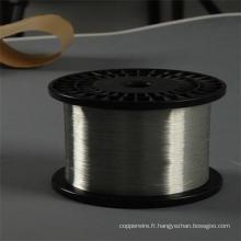 Fil d'acier revêtu d'aluminium dur de 20.3% de conductivité dessiné