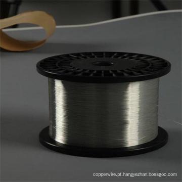 Alumínio revestido de alumínio único fio de arame de aço
