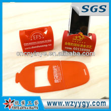 3D Pvc Mobile Phone Holder For Promotion