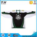 Camisas respirables del hockey sobre hielo del OEM