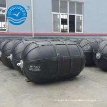 best price pneumatic rubber fender for ship ribbed type
