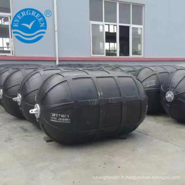 le meilleur amortisseur pneumatique en caoutchouc de prix pour le type nervuré de bateau