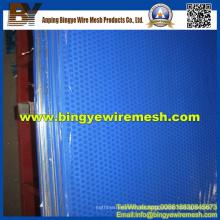 Panel perforado de hoja de aluminio para la construcción