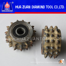Circle Bush Hammer Tool Litchi Granite Roller for Sale
