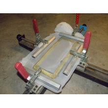 Máquina de estiramento manual simples para a placa do frame da tela