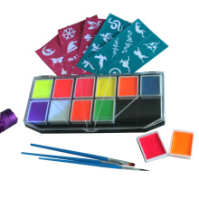 Professional Halloween face painting kit for kids