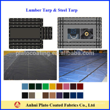 customized lumber tarp and steel tarp for protection made in China