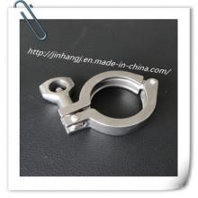 Conector rápido sanitário de aço inoxidável
