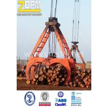 Mechanical timber grapple
