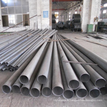 hot dip galvanizing antirust semi-finished iron column customized 12m 15m street lighting pole