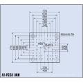 CE aprobado del objeto semitrabajado del animal doméstico del moldeo a máquina 228t Hola-P228