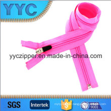 Hot! O/E Nylon Zipper with Iron up and Bottom Stopper