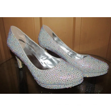 New Spring Collection High Heel Diamonds Women Shoes (HCY02-1548)