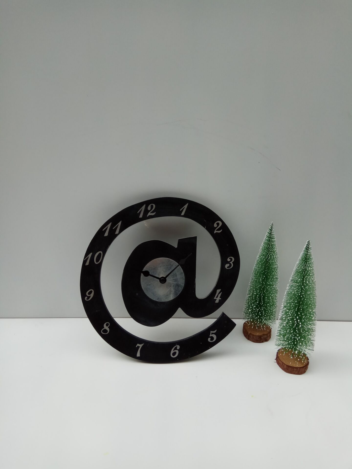 creative wooden clock