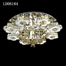 Modern k9 crystal ceiling lights for bedroom