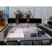 DEELEE cnc stone engraing machine with rotary