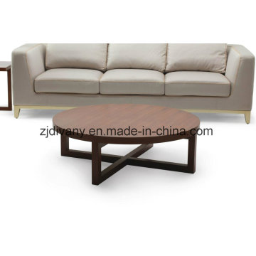 Modern Style Living Room Wooden Tea Table (T-74A)