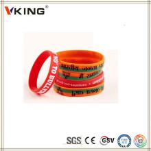 Popular Wholesales Custom Elastic Wristbands