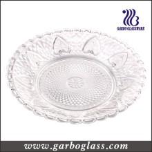 Plato de cena de cristal con encanto Precio (GB2301LH)
